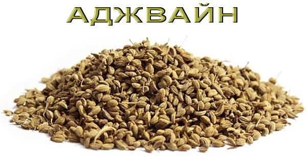 Herbal ajwain seeds over white background