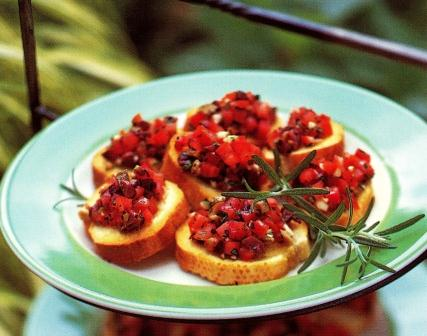 bruschetta-with-tomato-and-olives