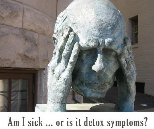 Главоболието е един от най-честите симптоми на детоксикация!