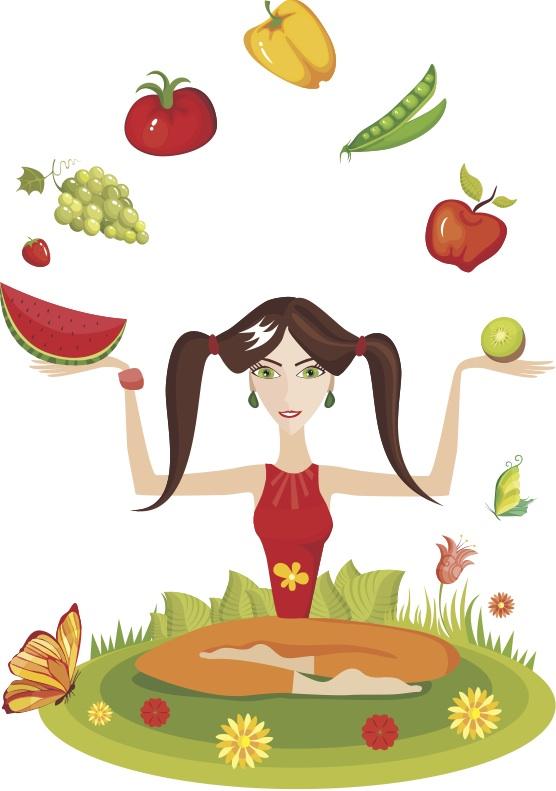 Май ни стана ясно какво е хубаво да ядем, ако искаме да сме здрави и щастливи, нали? :-)