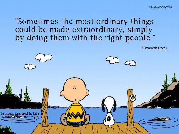 Понякога най-обикновените неща могат да бъдат превърнати в необикновени, само като ги правиш с правилните хора!
