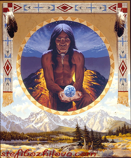 Copy of The Vision - native american