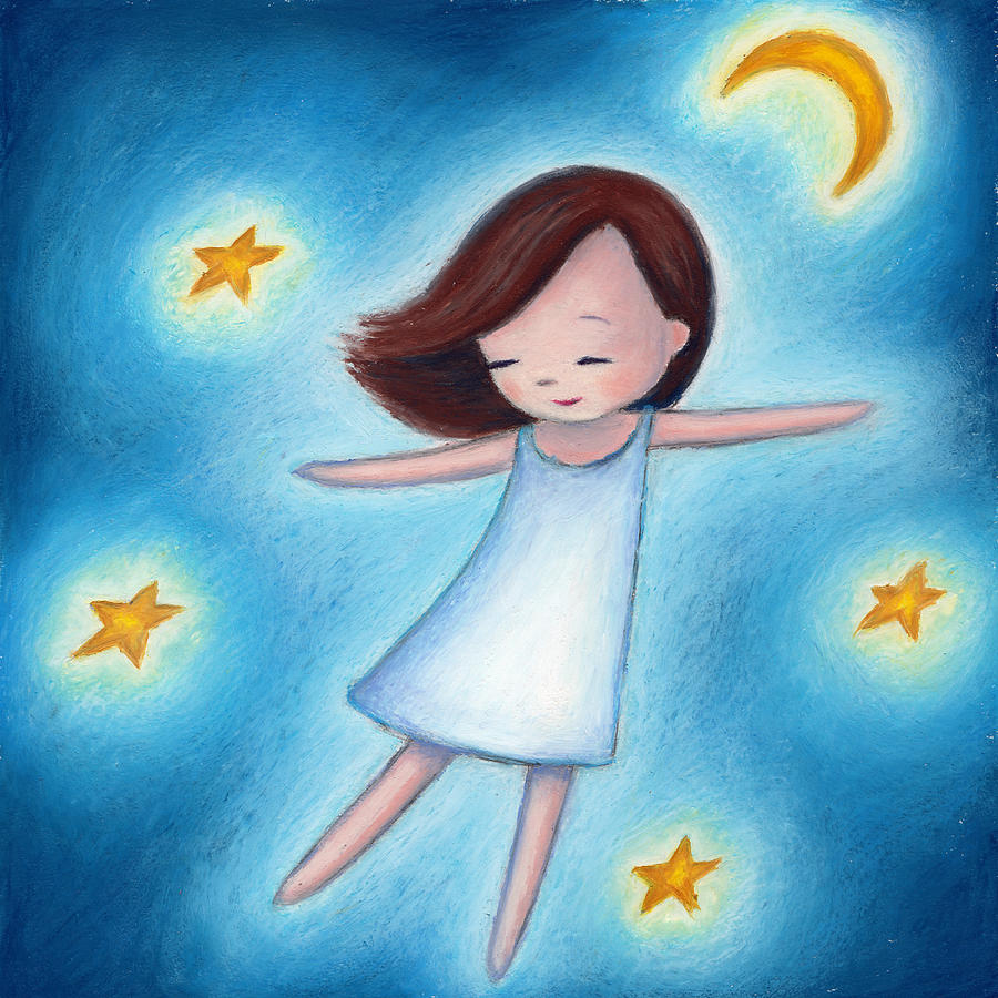 little-girl-flying-with-stars-mariia-sats