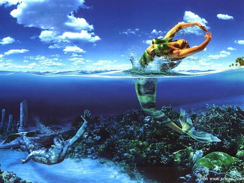 Mermaids Fantasy Art