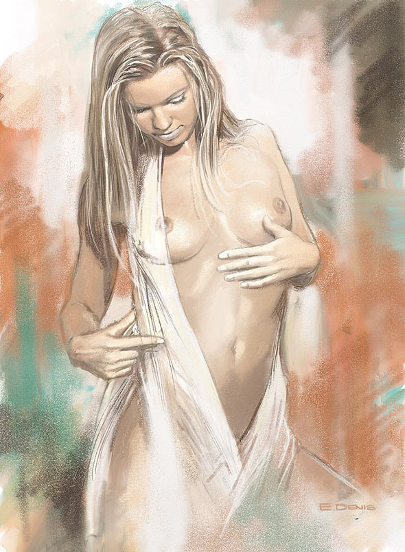 Nude woman beautiful