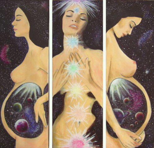 Transpersonal experience womb pregnancy Cosmoc
