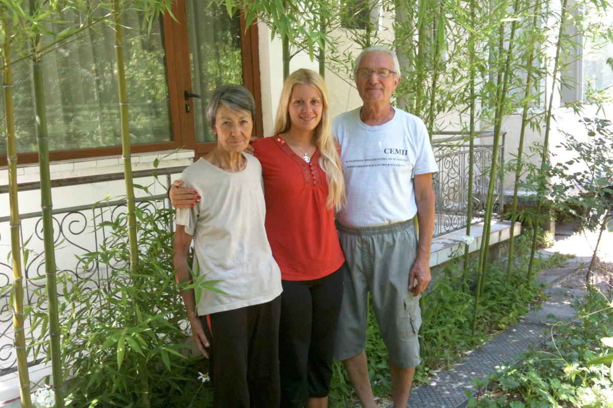 Стефи, чичо Митко и леля Мария