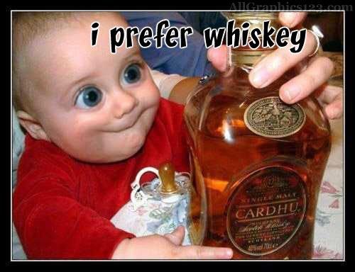 Baby whiskey