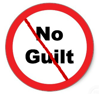 No guilt any more!