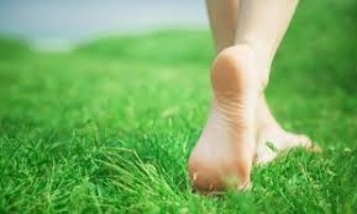 Barefoot-in-the-grass