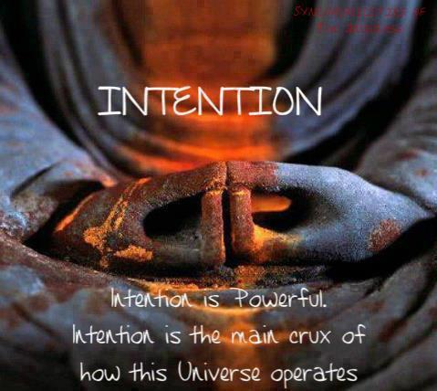 Намерението е могъщо! Намерението e основната загадка на това как работи Вселената.
