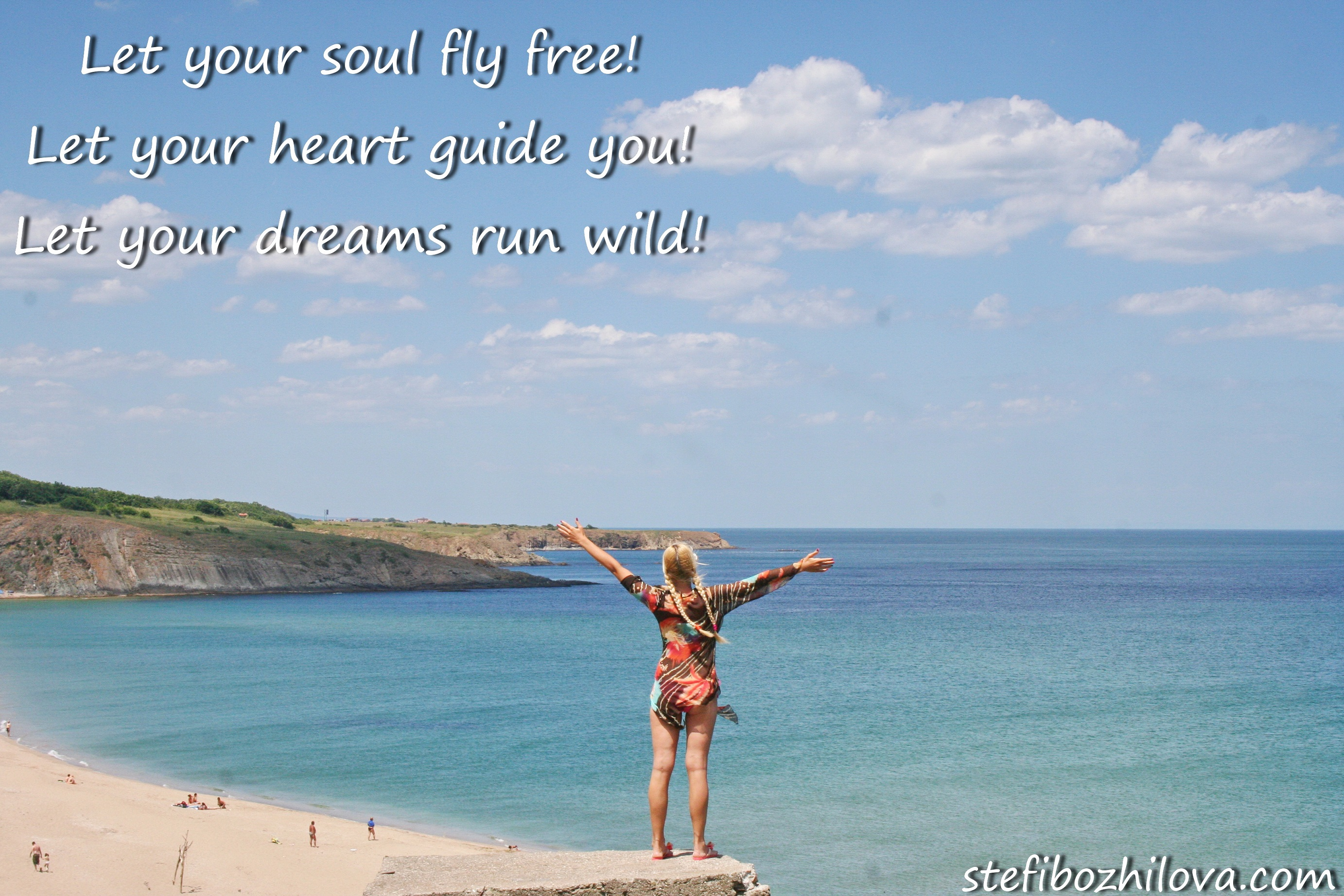 Let your soul fly free!