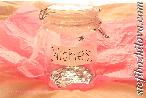 Wishes in a jar