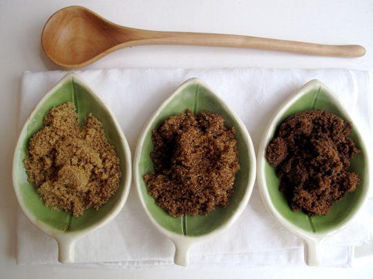 Brown sugar Muscovado