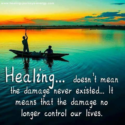 Healing doesnt mean the damage never existed