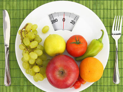 Healthy lifestyle fruits weight control