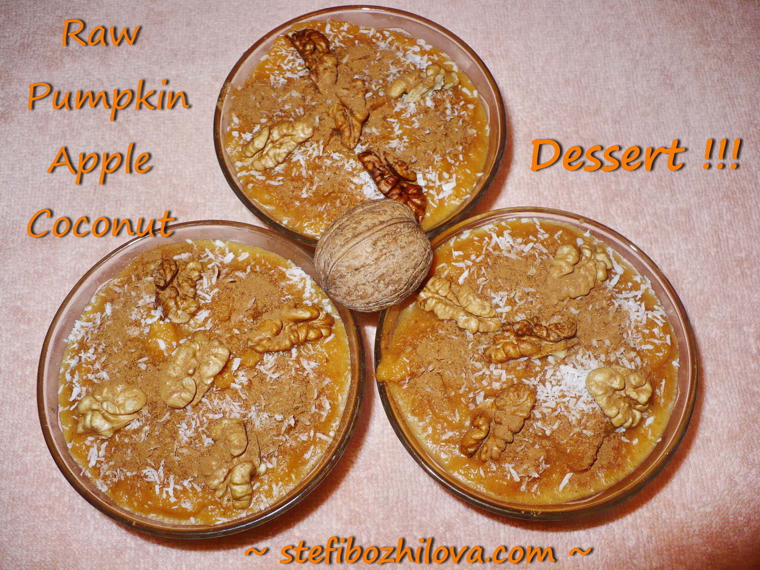 Raw Pumpkin Dessert 3-1