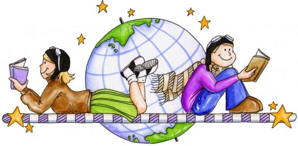 Reading traveling globe