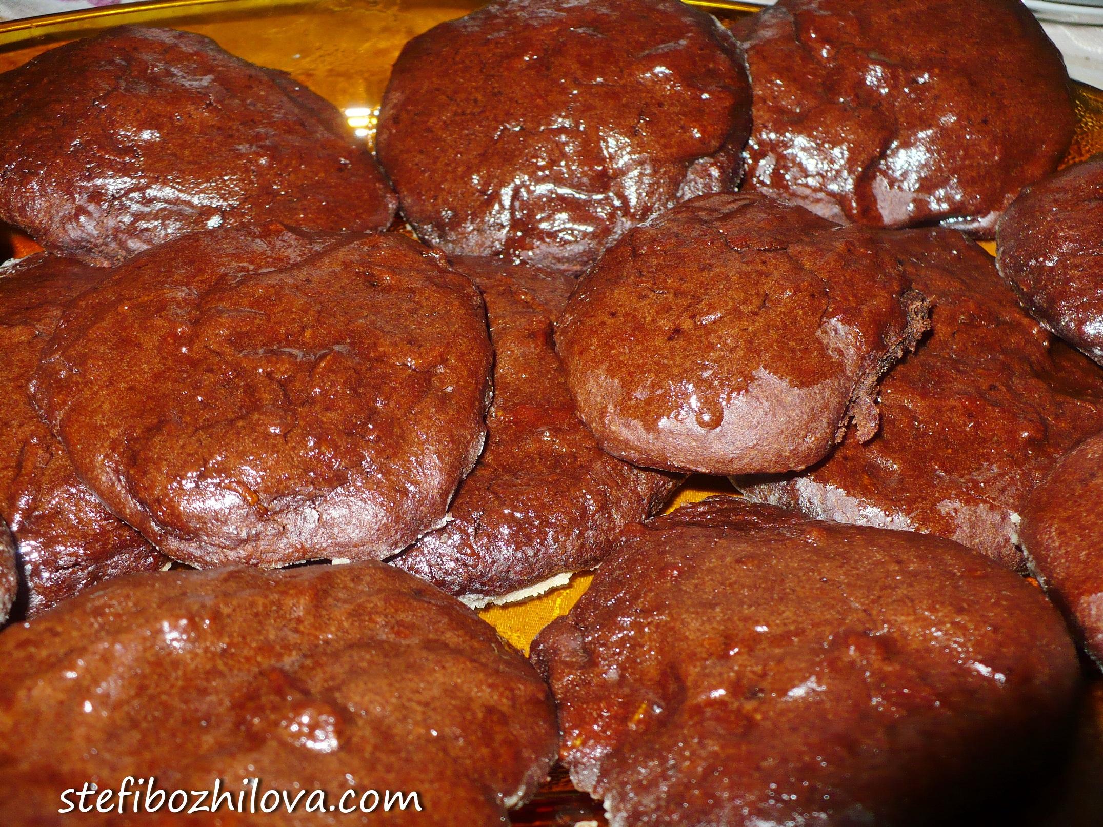 Vegan chocolate cookies 2