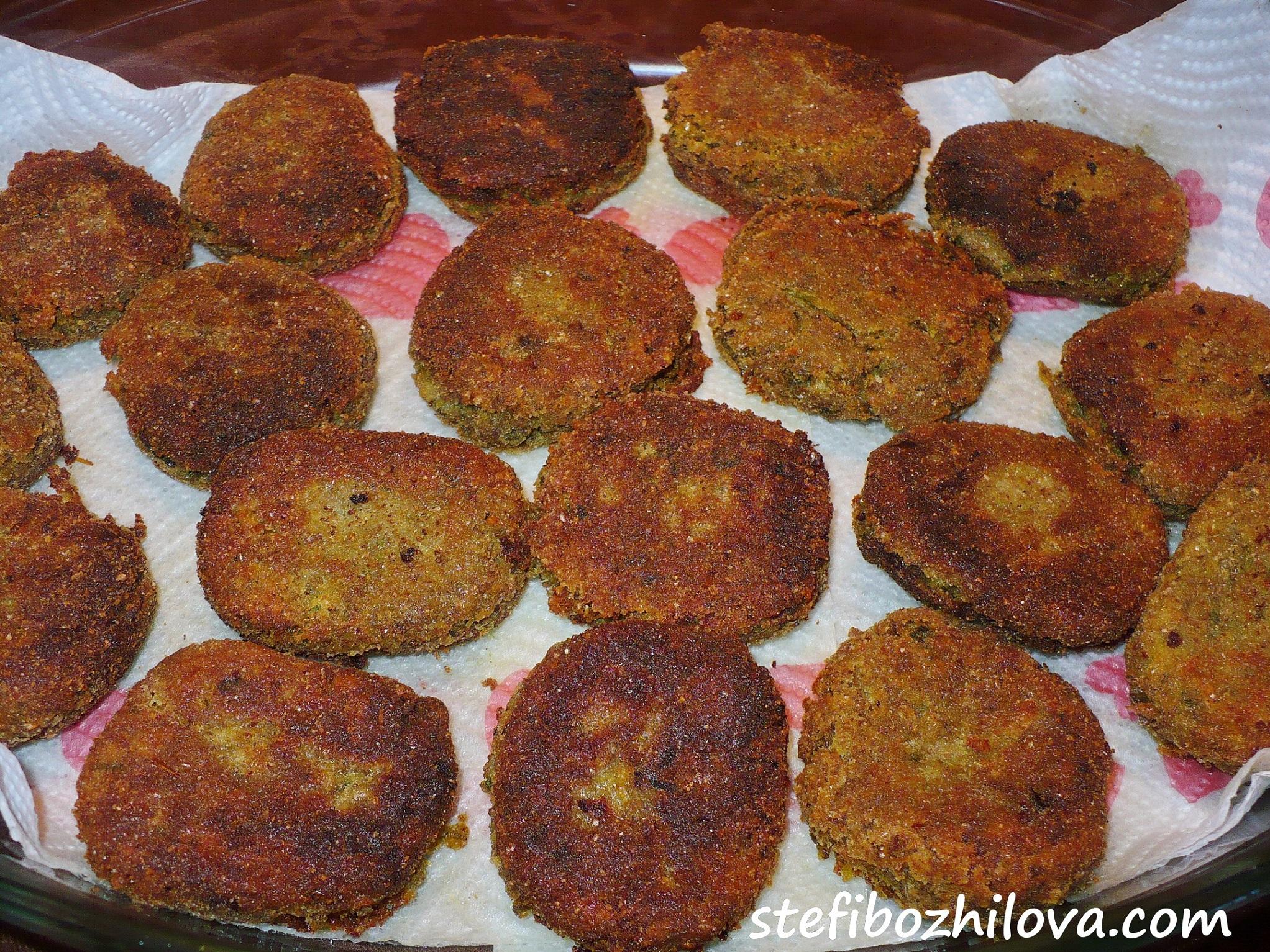 Lentils fried balls 1