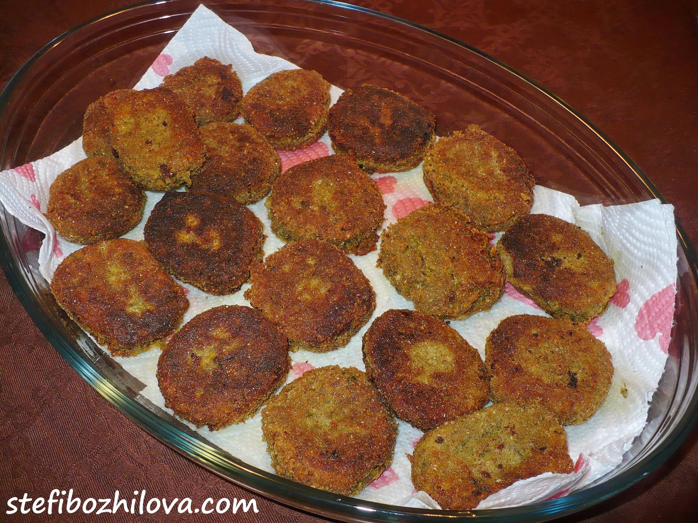 Lentils fried balls 2