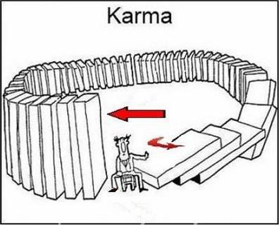 Karma - domino effect