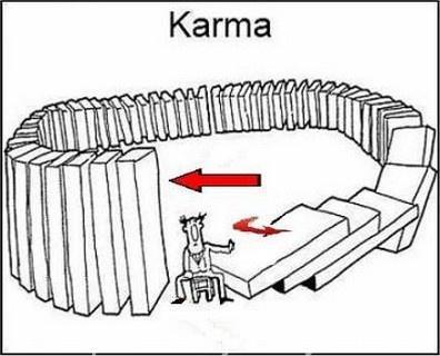 Karma - domino effect