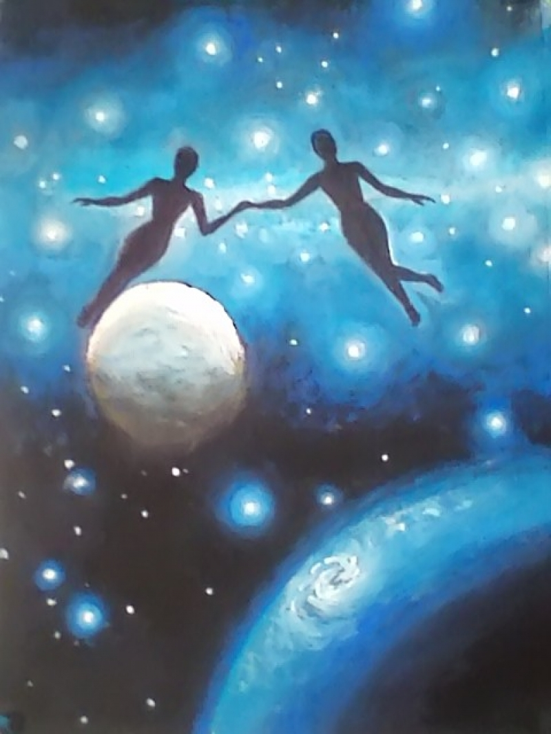 Twin souls Cosmos Universe Connection Love