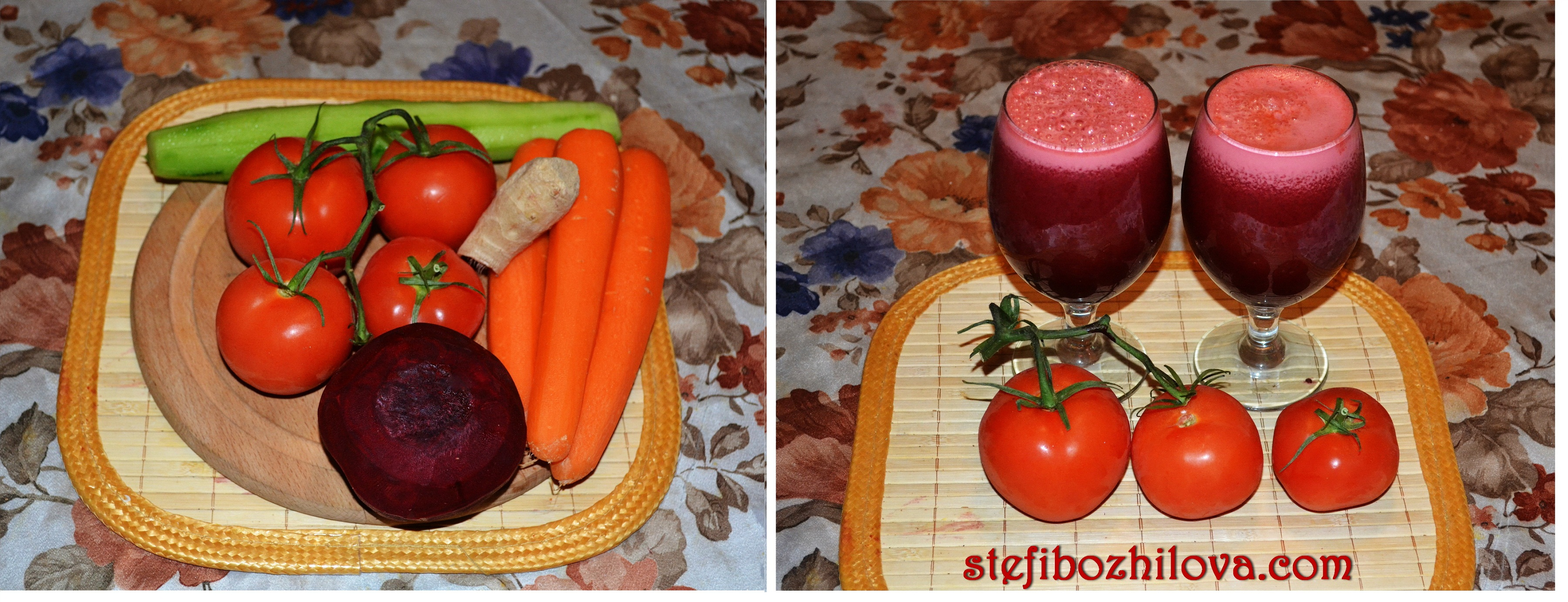 Carrot Tomato Beet Ginger Juice