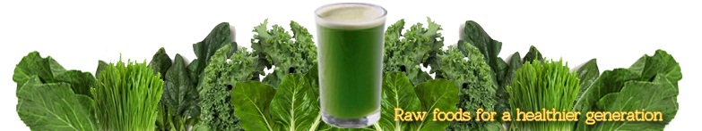 Green juices banner