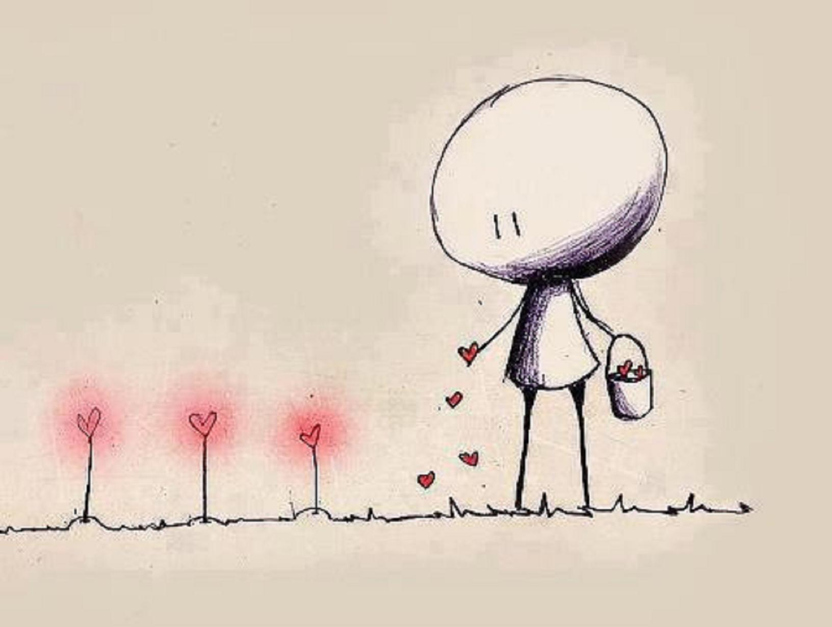 Plant the seeds of love