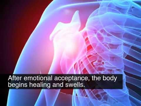 След като настъпи емоционално приемане и псих. успокоение, тялото започва да се лекува и да зараства.