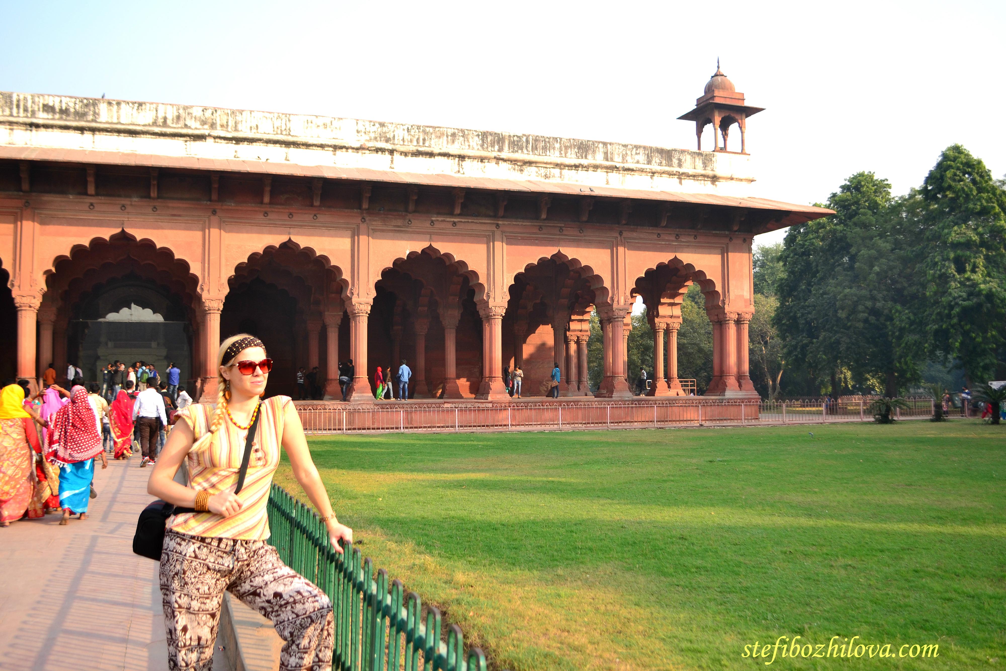 В Червената крепост в Делхи