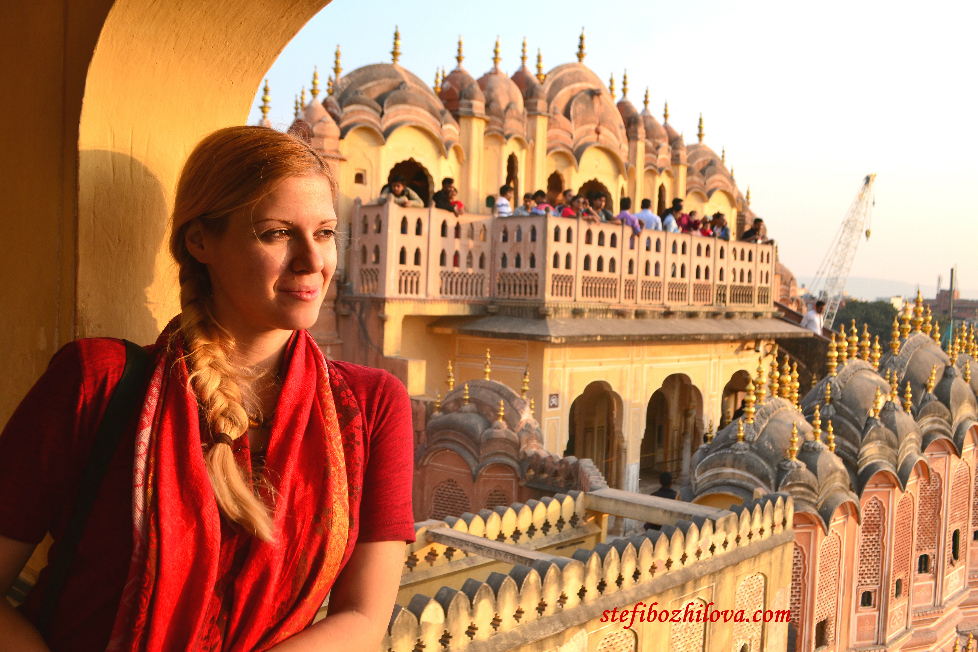 Хава Махал - Дворецът на ветровете в Джайпур