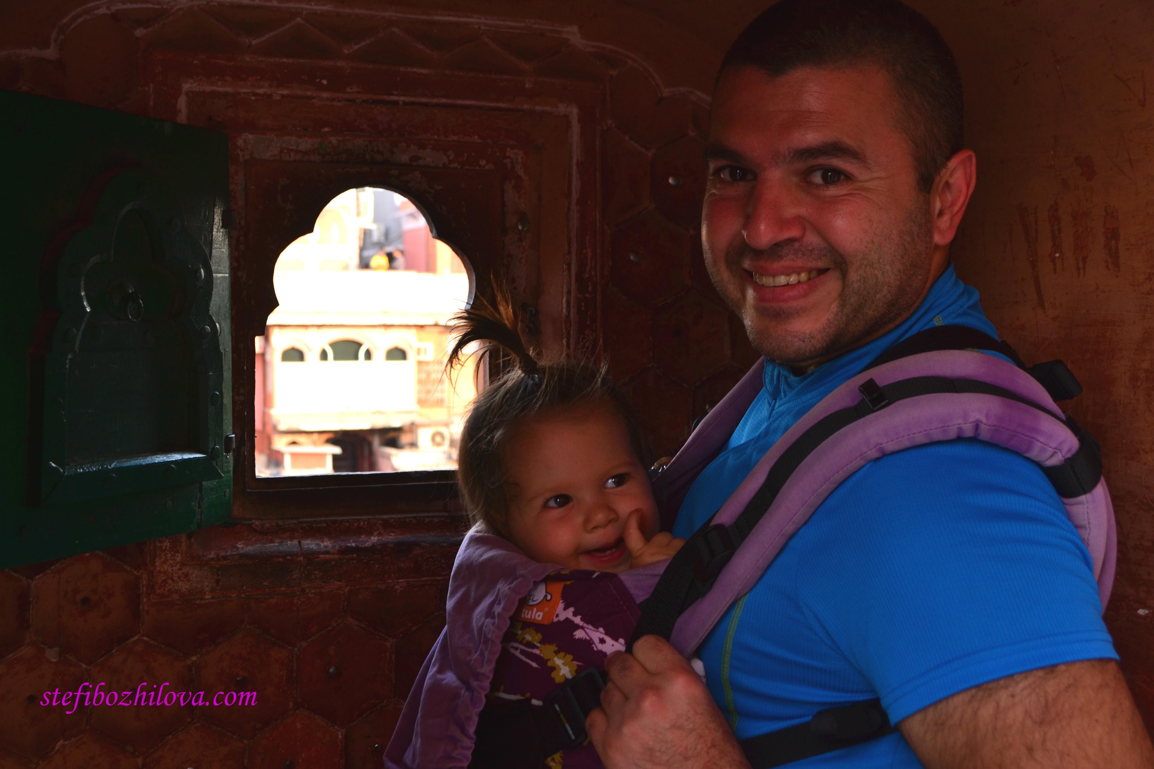 Да погледнем през едно от стотиците малки прозорчета на Хава Махал